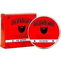 Bio balsamo per barba - Surtic - 60 ml balsamo per barba - 100% naturale - Barba dorata - Produciamo barba Balsamo forte - ideale per la barba balsamo per gli uomini profumata e lunga barba - Prendi la nostra barba balsamo balsamo per barba oro e Arresto prurito.
