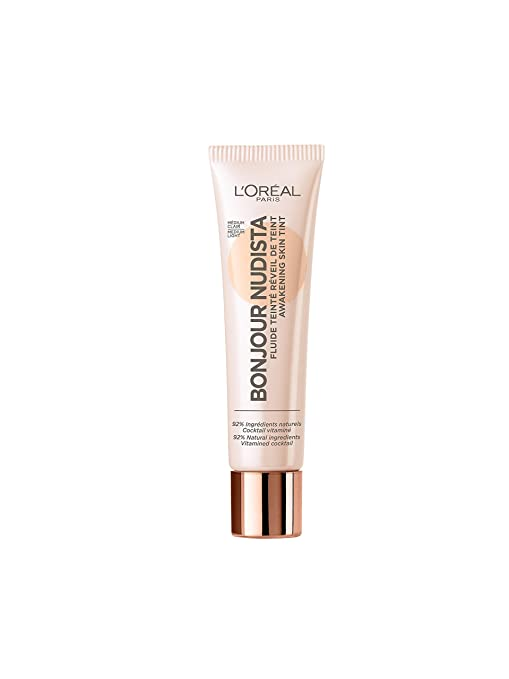 4cb6f50bd L'Oreal Paris Bb Cream, Nude Magique: Amazon.com.mx: Salud, Belleza ...