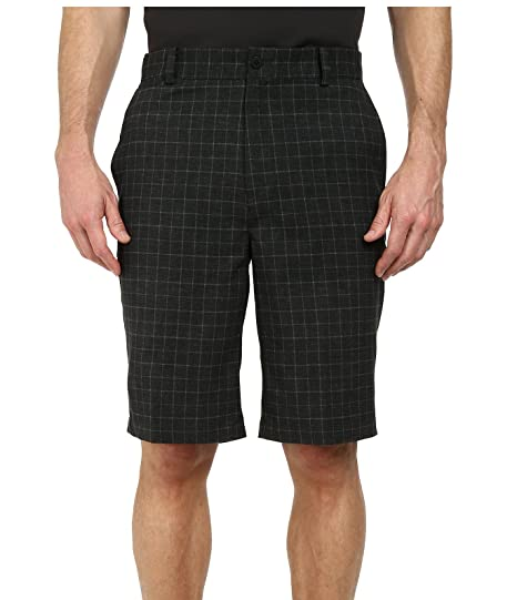 watch 57e15 c820d Image Unavailable. Image not available for. Color  Nike Mens Dri-Fit Plaid  Golf Shorts-Dark ...