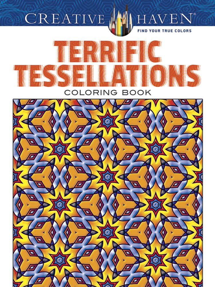 Creative Haven Terrific Tessellations Coloring product image