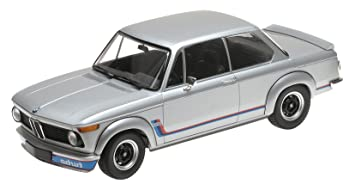 Minichamps 1:18 1973 BMW 2002 Turbo – Plata – 155026201