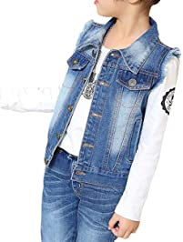Girl S Outerwear Vests Amazon Com