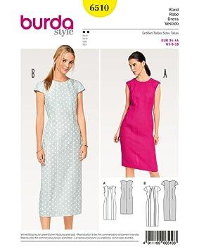 Burda Patron de couture pour femme décontracté robes avec