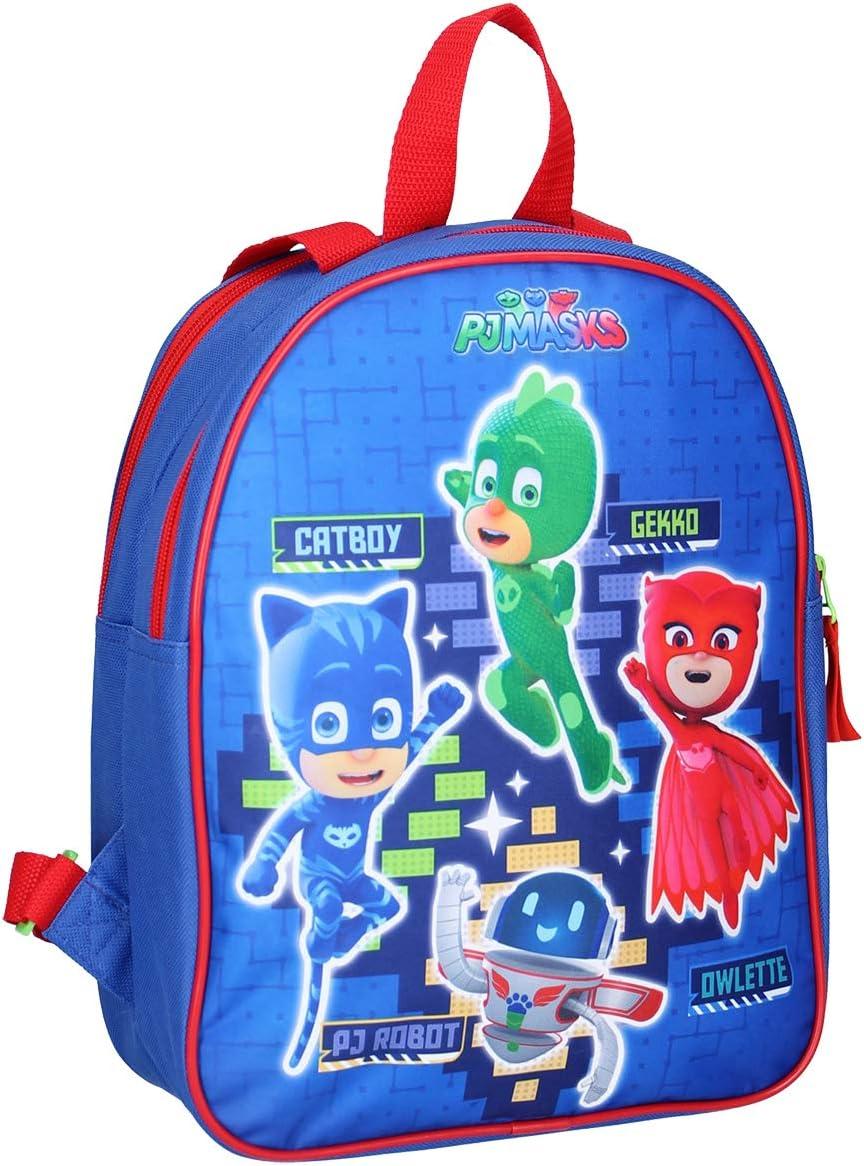 Pyjamasques Sac /à Dos 610-9468, 32 * 26 * 11cm PJ Masks Fantaisie Sacs, cartables, Trousses,Parapluie. Bagages