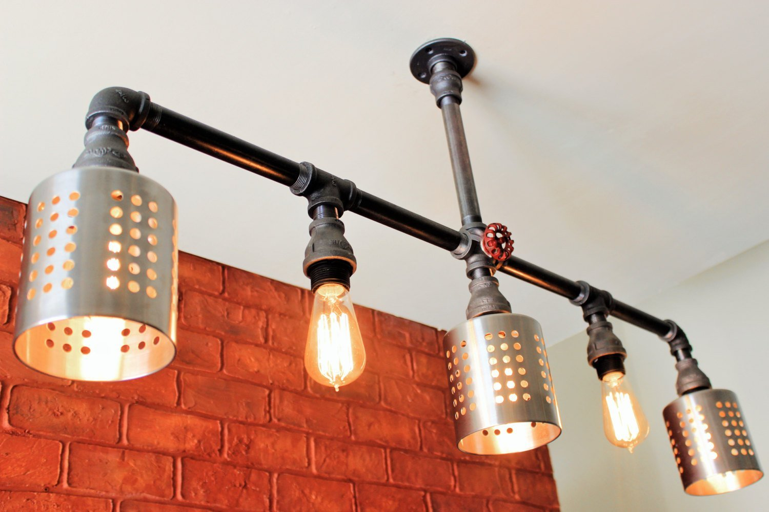 com beam steampunk chandelier vintage lights all west steampunkist wood products ninth