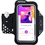 Mpow Running Armband for iPhone X/8/7/6s up to 5.1'', Armband with Key & Headphone Slots