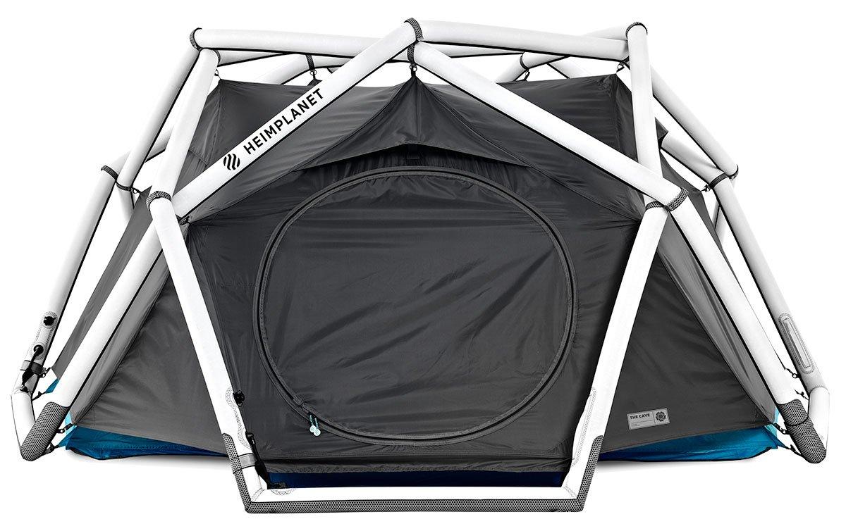 aufblaszelt test diese aufblasbaren zelte halten was sie. Black Bedroom Furniture Sets. Home Design Ideas