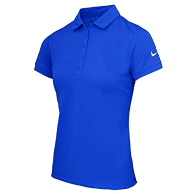 15907f36bba4 Nike Womens Ladies Victory Short Sleeve Solid Polo Shirt at Amazon Women s  Clothing store