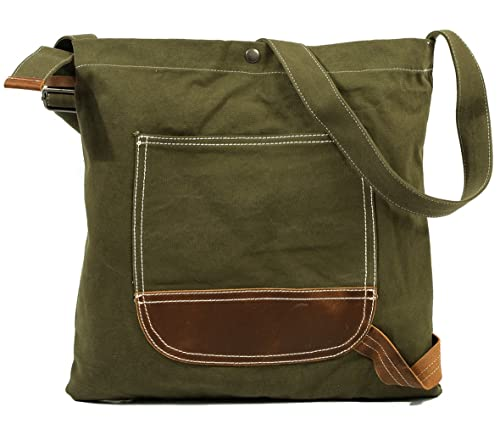 4679231917 Kemy s Canvas Crossbody Bags for Women Over the Shoulder Bag Large Satchel Purse  Cross Body Travel
