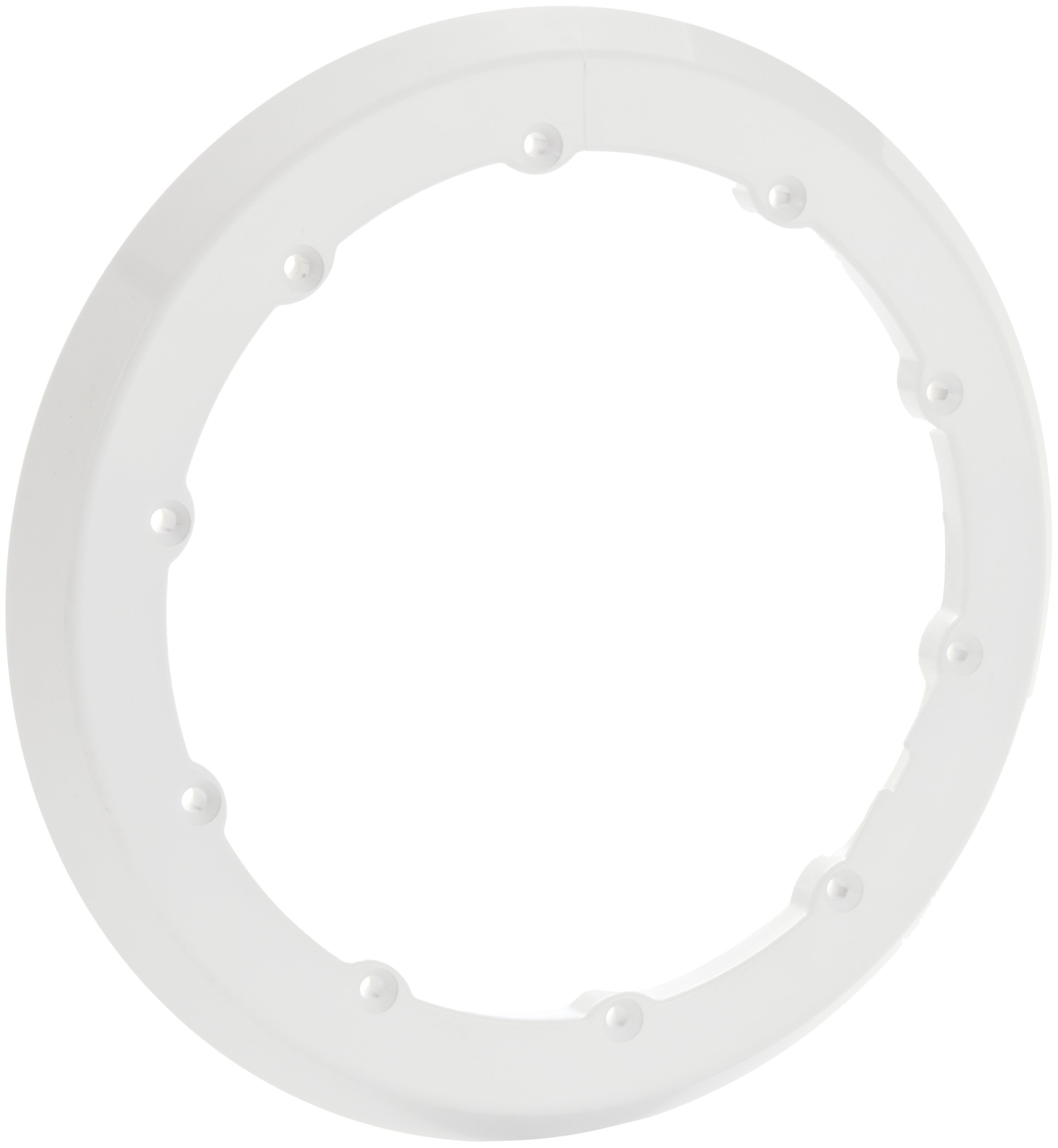 Pentair 630017 White Sealing Ring with Gasket Replacement QuickNiche Pool and Spa Light Niches