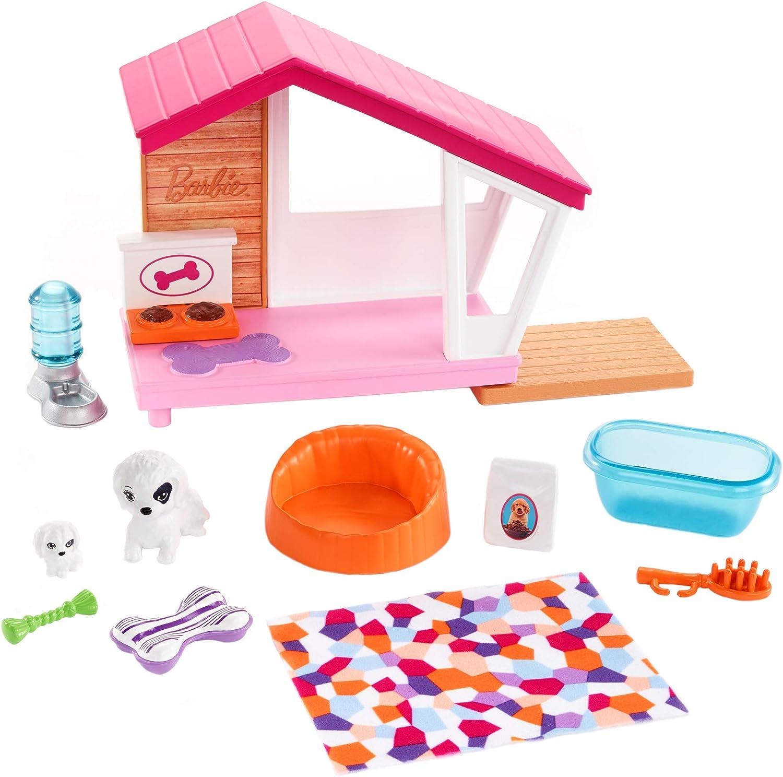 Barbie Muebles de interior, accesorios para los perritos y las mascotas de las muñecas (Mattel FXG34) , color/modelo surtido