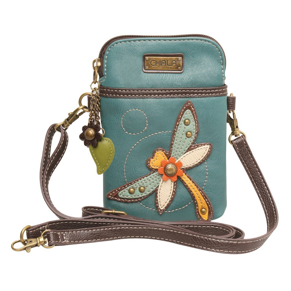 Chala Crossbody Cell Phone Purse - Women PU Leather Multicolor Handbag with  Adjustable Strap fb96bed5dc