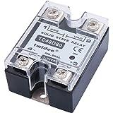 Twidec/Output Single Phase SSR Solid State Relay 60A 3-32V DC to 24-480V AC SSR-60DA