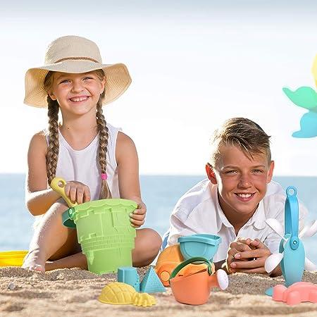 Volkswagen original niños arenero set en el cubo con capsulas arena juguetes