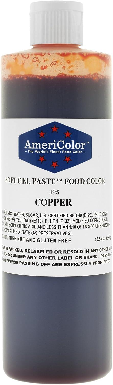 Americolor Copper (Fleshtone) Soft Gel Paste 13.5 Ounces