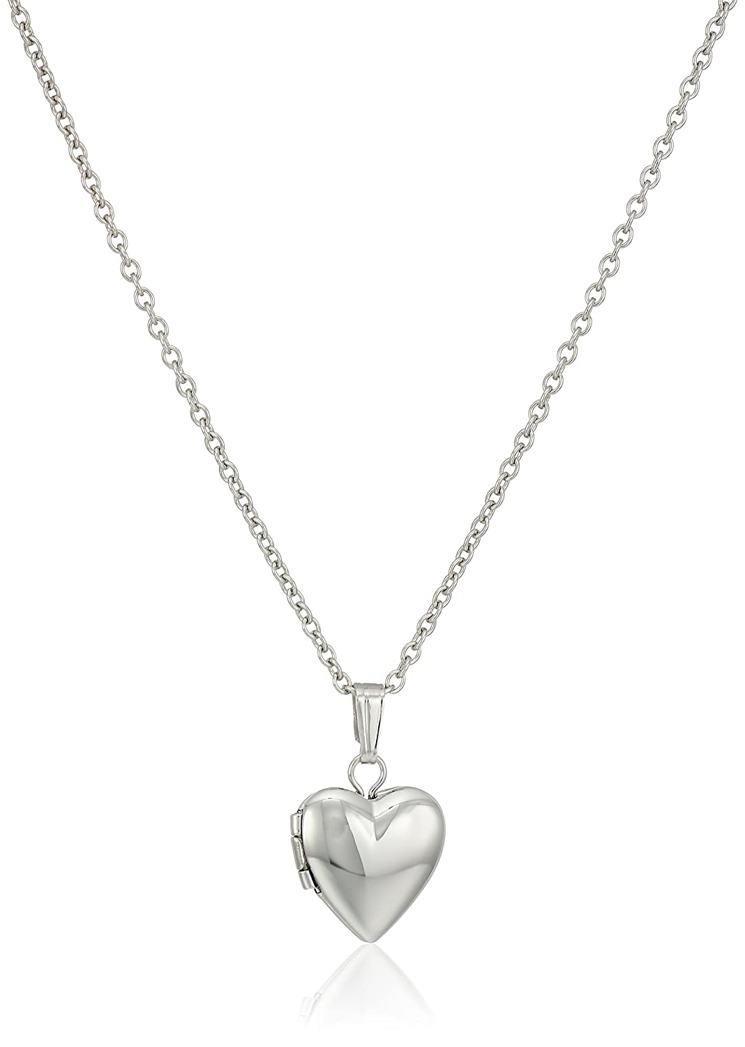 Perfect Amazon.com: Children's and Baby Sterling Silver Polished Heart  CU46