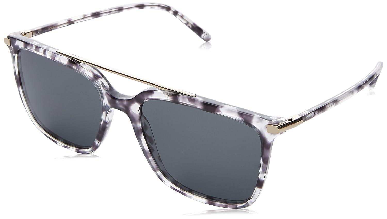Dolce & Gabbana Herren Sonnenbrille 0DG4318 314180, Blau (Bluette Havana/Blue), 55