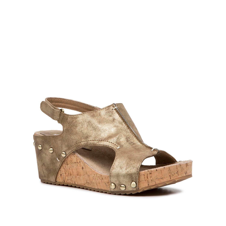 Antelope Women's 555 Bronze Metallic Leather Met Zip Sandals 41