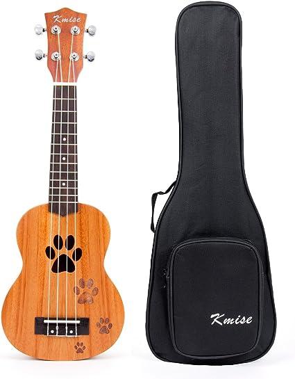 Kmise ukelele Soprano ukelele ukelele guitarra Hawaii 12 trastes ...