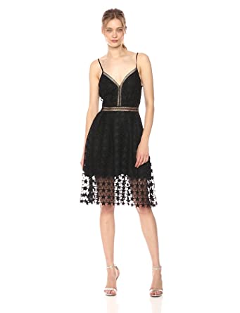 b615cee16b77 Sam Edelman Women s Star Lace Midi Dress at Amazon Women s Clothing ...