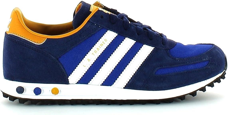 Comida sana complemento concierto  Adidas - Adidas LA Trainer K Blue Childrens Sneakers M20702 - Blu, 29:  Amazon.co.uk: Shoes & Bags
