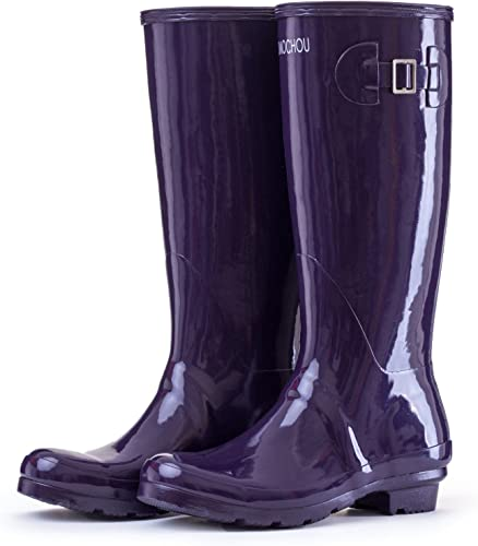 botte de pluie femme violette 39