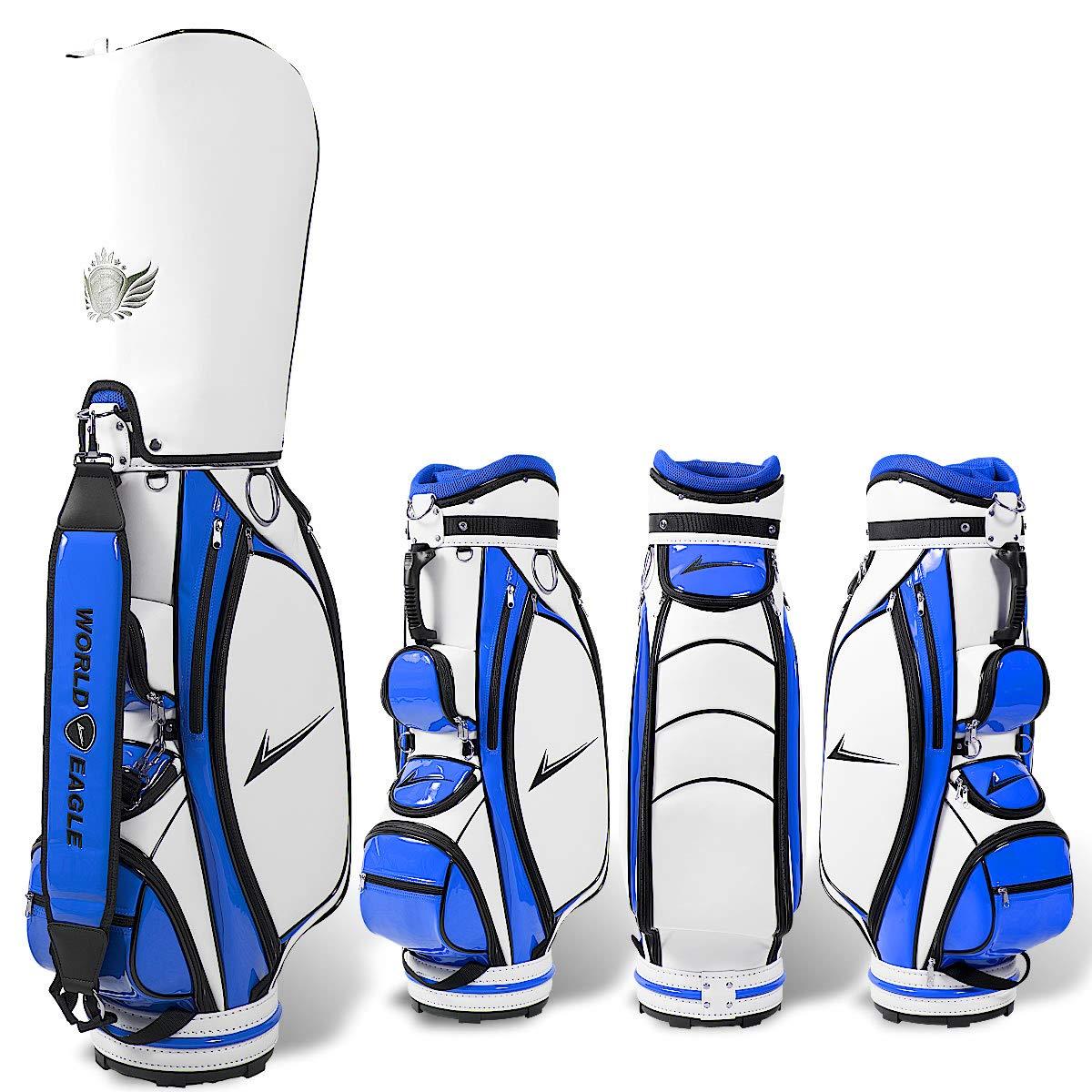 超安い CBXメンズ ゴルフ カート バッグ B07M9YLF1M B07M9YLF1M カート ホワイト ゴルフ/ブルー ホワイト/ブルー, suncardo:c64a4319 --- arianechie.dominiotemporario.com
