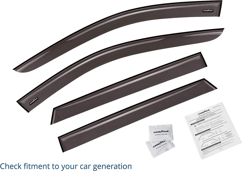 Auto Ventshade 94534 R Door Window Deflector-Ventvisor Deflector 4 pc