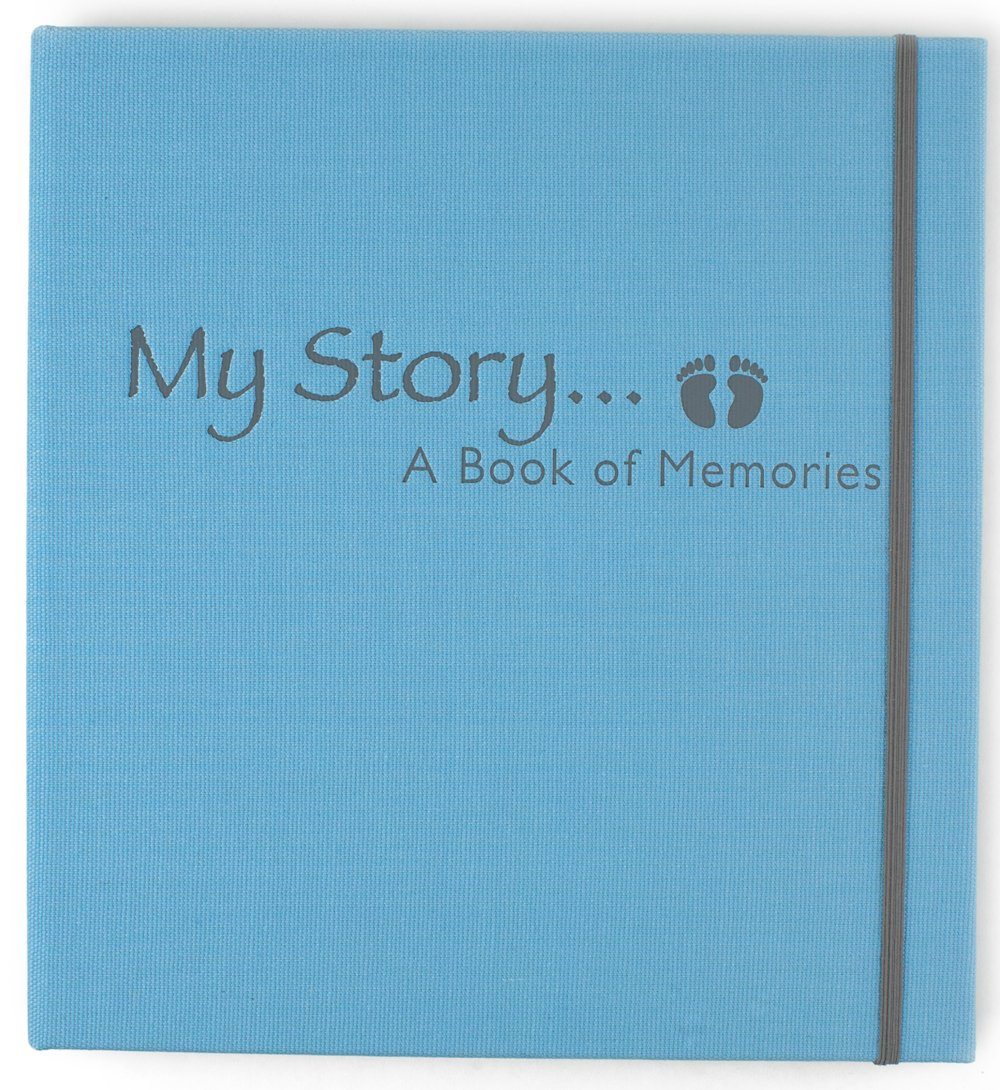 Glow Baby My Story A Book of Memories, Blue MS-B