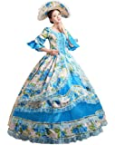 Amazon.com: Southern Belle Blue Theater Costume Dress