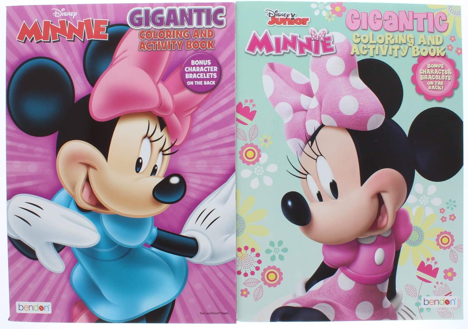 Assorted Activity Books Useful Universe 2 Pk Disney Junior Minnie Mouse Gigantic Coloring /& Activity Book 200 Pages
