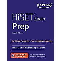 HiSET Exam Prep: Practice Tests + Proven Strategies + Online (Kaplan Test Prep)