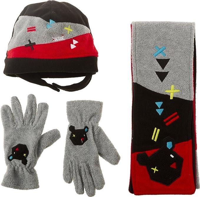 Tuc Tuc 38222, Set de bufanda, gorro y guantes para Niños, Gris One