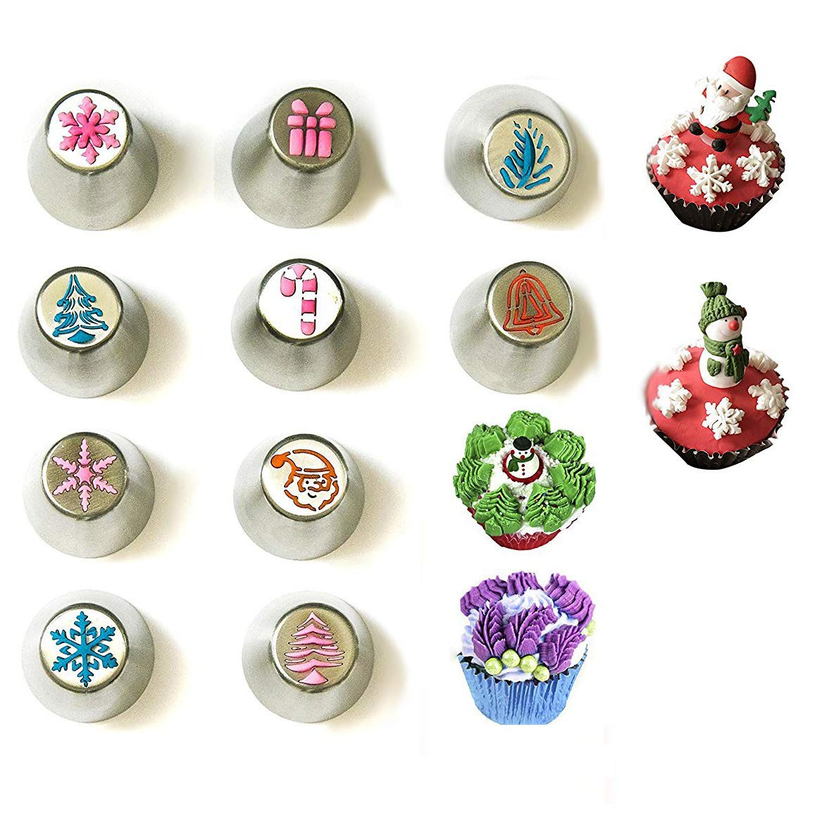 Christmas Russian Piping Tips Holiday Design .
