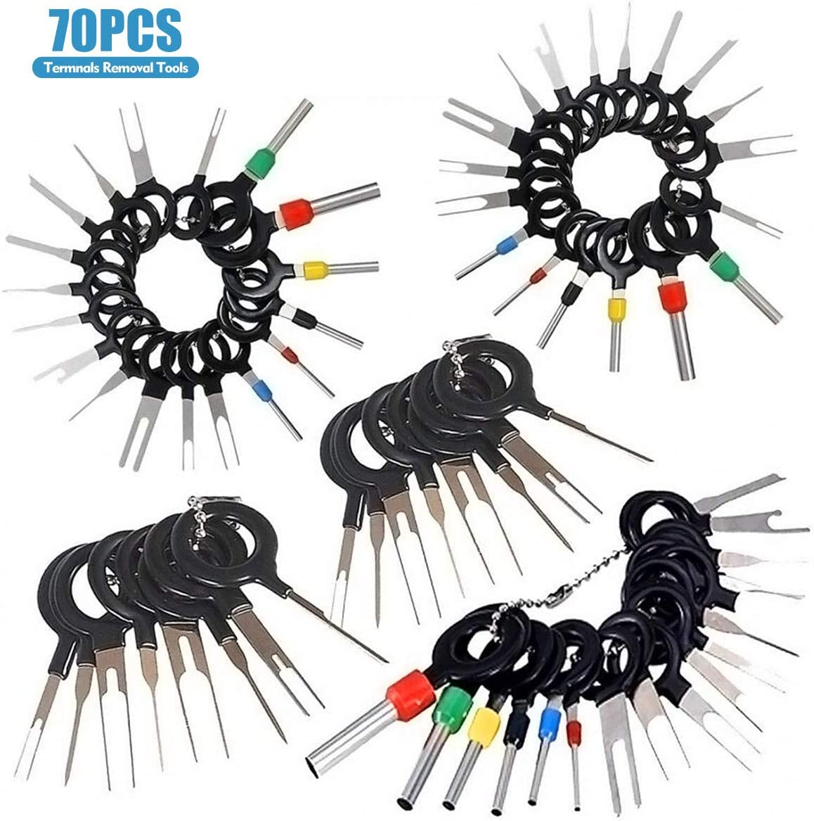 Installation Accessories & Harnesses Electronics 70pcs Ejector Kit ...