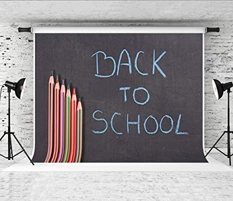 Little Lucky Back to School - Pizarra de Fondo para ...