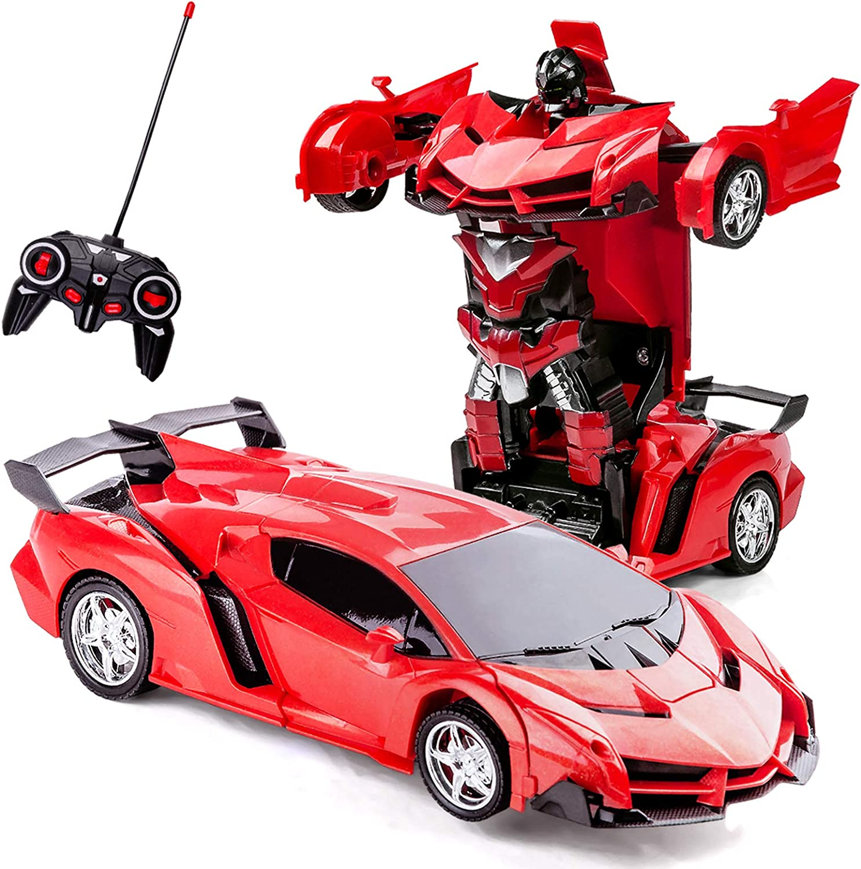 Transformer Toy Sports Car Racing Car Robot Transformers Toy Figures