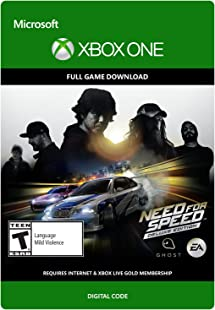 Need For Speed Deluxe Edition - Xbox One Digital Code