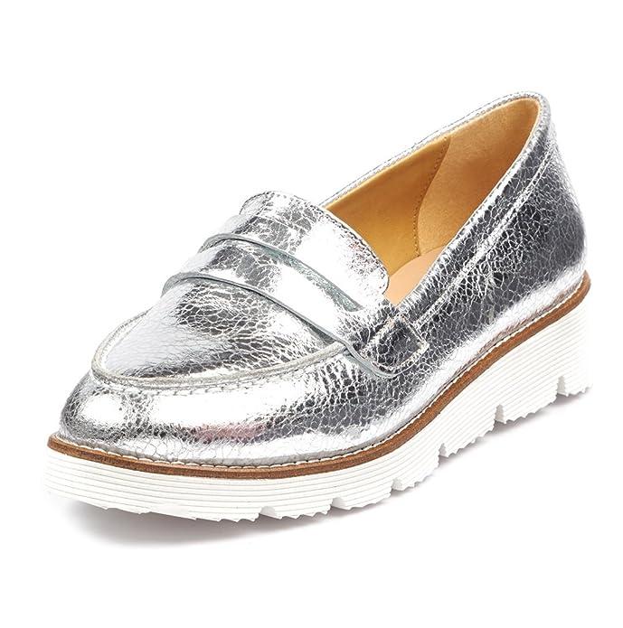 BOBERCK Colección Val Mocasin Bajo de Cuero para Mujer: Amazon.es: Zapatos y complementos