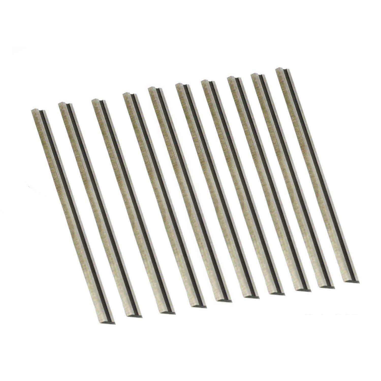 "3-1/4"" 82mm Tungsten Carbide Portable Planer knife blades For MAKITA, BOSCH, DeWalt, BLACK&DECKER, Ryobi (TCT - 10Pack)"