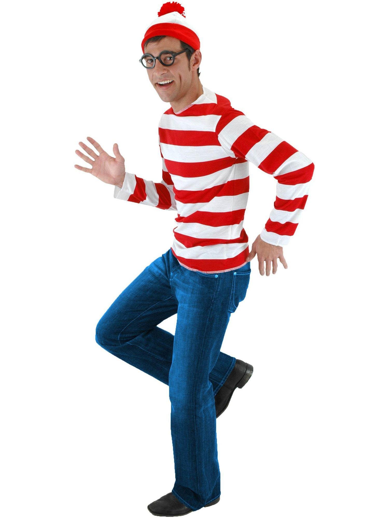 JerriyCostumes Adult Where's Waldo Wenda Kit by JerriyCostumes