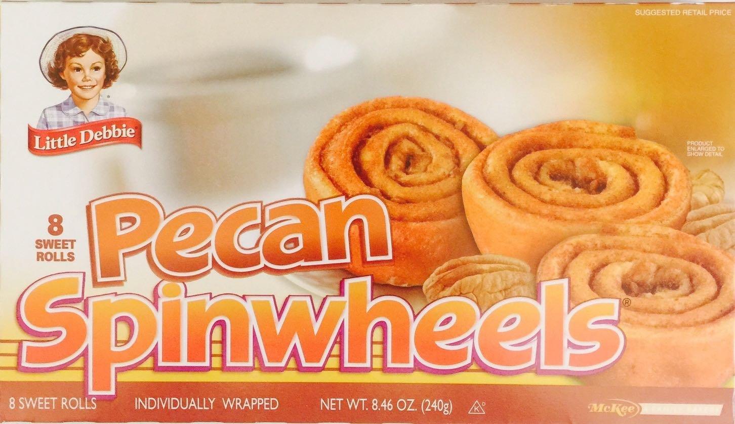 Little Debbie Pecan Spinwheels 6 Boxes