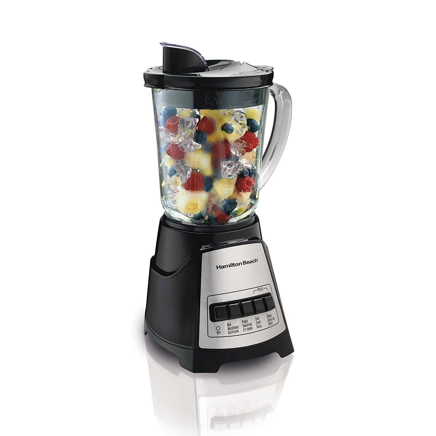 Hamilton Beach 58148 Power Elite Multi-Function Blender, Black 58148A