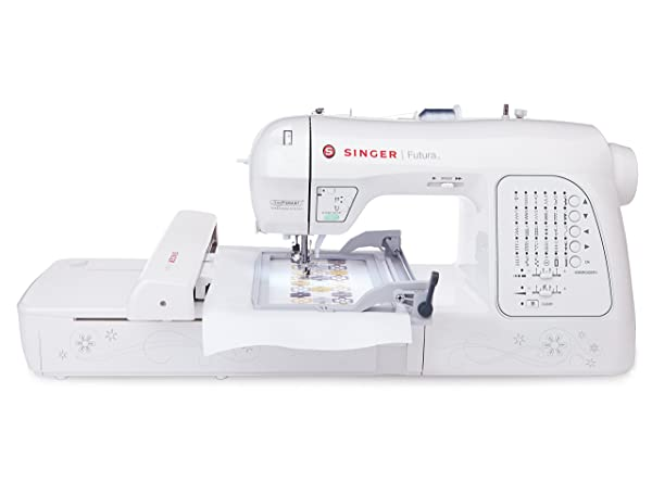 Top Singer embroidery machine for home use: Singer XL-420