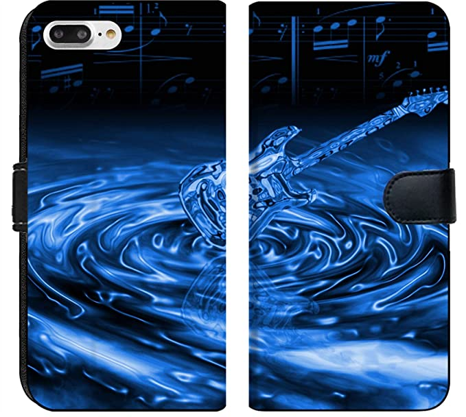 Amazon Com Apple Iphone 8 Plus Flip Fabric Wallet Case