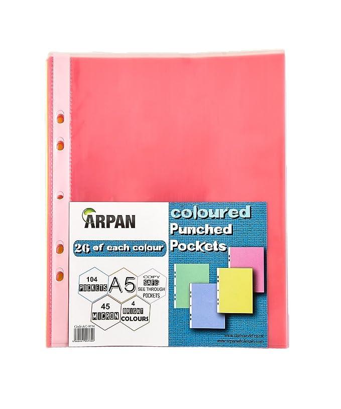Amazon.com: Arpan A5 104 fuerte transparente color ...