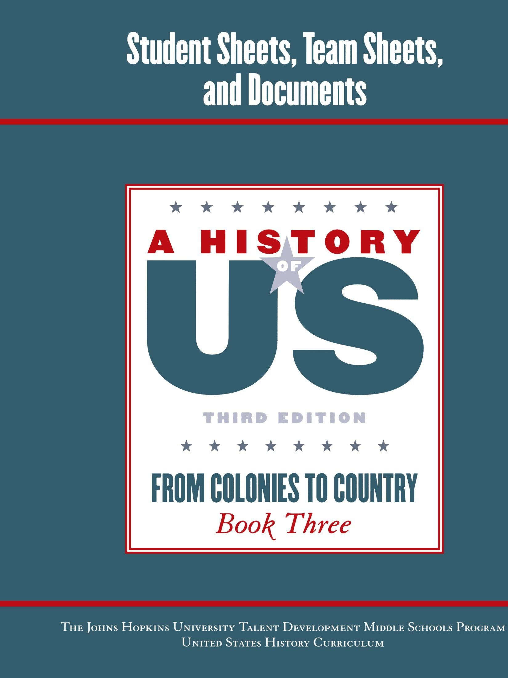Johns Hopkins University Student Workbook for Book 3 Hofus (A History of US) PDF