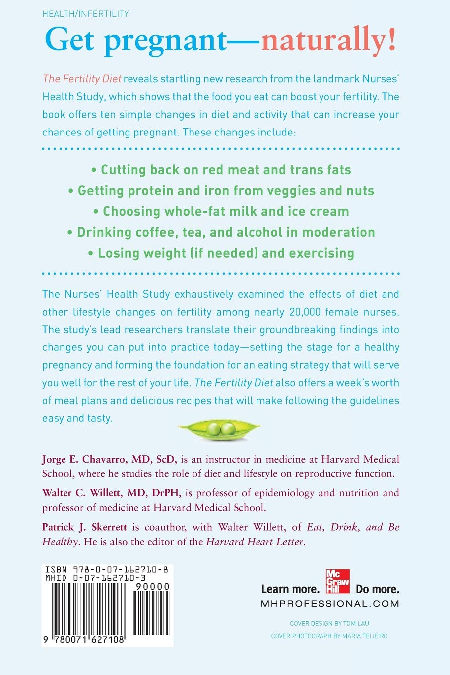 The Fertility Diet: Groundbreaking Research Reveals Natural ...