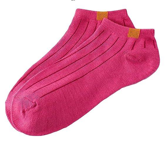 DEELIN 1 Pair Unisex CóModa Franja De AlgodóN Zapatillas Calcetines Cortos Tobillo Calcetines: Amazon.es: Ropa y accesorios