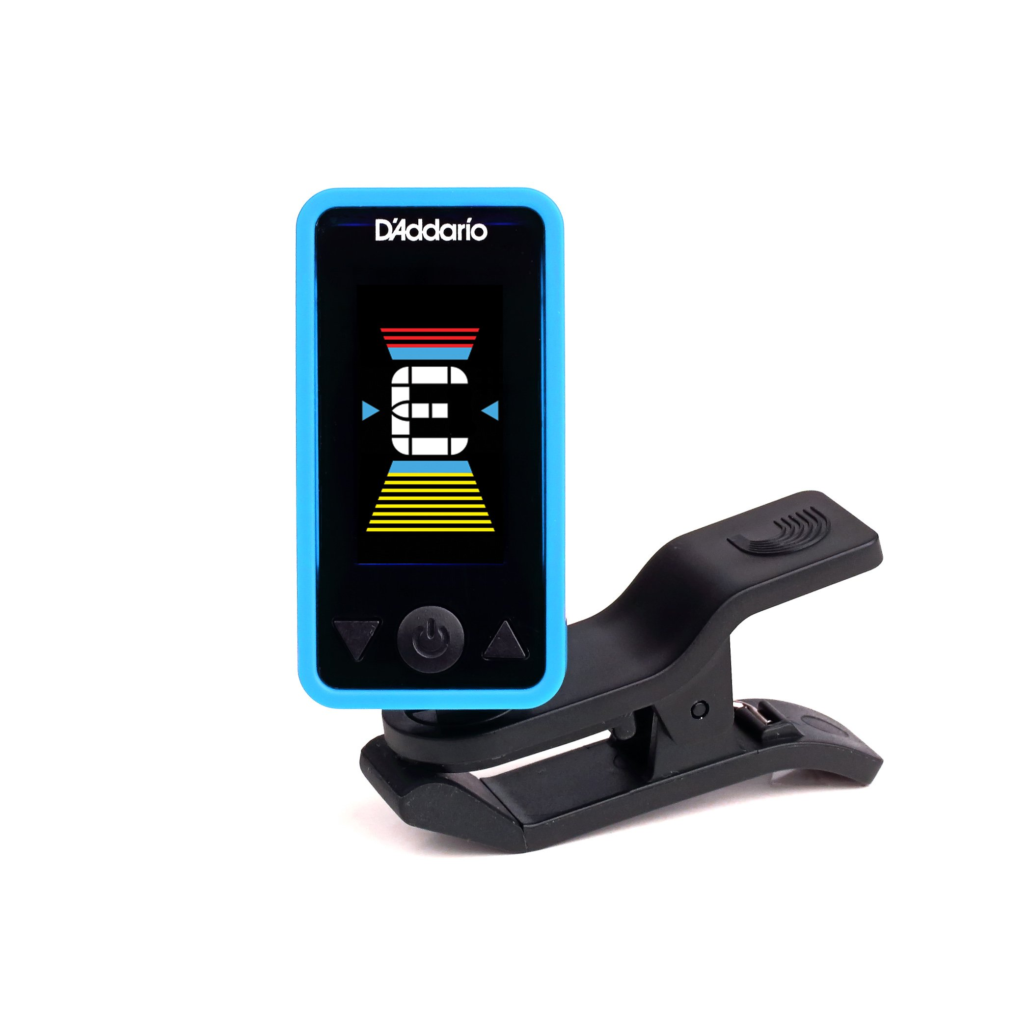 D'Addario Accessories Eclipse Headstock Tuner, Blue